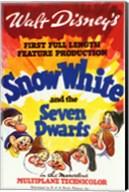 Snow White and the Seven Dwarfs 1st Full Length Fine-Art Print