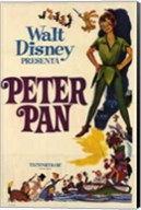 Peter Pan by Disney Wall Poster