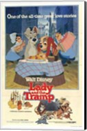 Lady and the Tramp Great All-time Love Story Fine-Art Print