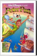 Peter Pan Captain Hook Wall Poster