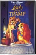 Lady and the Tramp Disney Classic Fine-Art Print