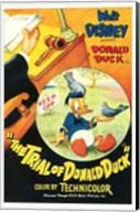 Trial of Donald Duck Fine-Art Print
