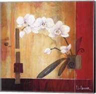 Orchid Lines II Fine-Art Print
