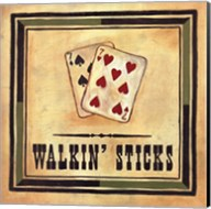 Walkin' Sticks Fine-Art Print