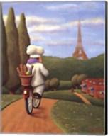 The Road to Paris Fine-Art Print
