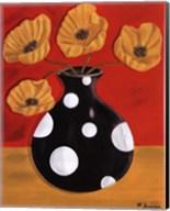 Polka Dot Poppies Fine-Art Print
