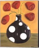 Polka Dot Tulips Fine-Art Print