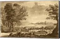 Pastoral Landscape V Giclee