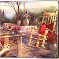 Patio Chaise Fine-Art Print
