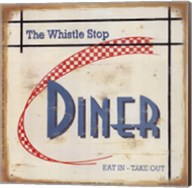 Whistle Stop Diner Fine-Art Print