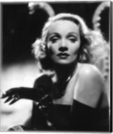 Marlene Dietrich - Black and white Fine-Art Print
