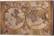 Map - Globe Terrestre Fine-Art Print