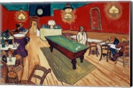 The Night Cafe in the Place Lamartine in Arles, c.1888 Fine-Art Print