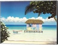 Island Hut Fine-Art Print
