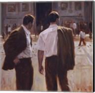 Two Gentlemen in Milan Fine-Art Print