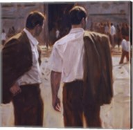 Two Gentlemen in Milan Fine-Art Print