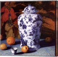 Composition with Asian Pears (Contemporary Still-Life #25) Fine-Art Print
