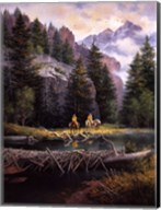 Lure of Rockies Fine-Art Print