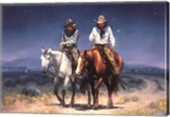 Two Stayed Late Fine-Art Print