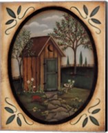 His Outhouse Fine-Art Print