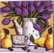 Purple Tulips Fine-Art Print