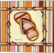 Bamboo Flip Flop III Fine-Art Print