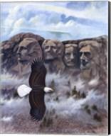 Eagle - Mount Rushmore Fine-Art Print