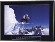 Persistence - Snowboarder Fine-Art Print