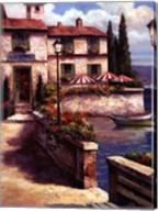 Mediterranean Villa I Fine-Art Print