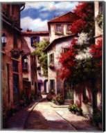 Mediterranean Villa II Fine-Art Print
