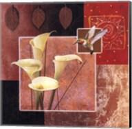 Calla Lily/Butterfly Fine-Art Print