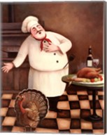 Turkey Chef I Fine-Art Print