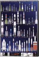International Space Rockets Fine-Art Print