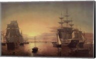 Boston Harbor, about 1850-55 Fine-Art Print