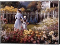 Victorian Garden Fine-Art Print