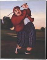 Golf Fore Fine-Art Print