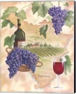 Toscana - Bella Vino Fine-Art Print