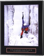 Determination - Ice Climber Fine-Art Print