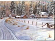 Winter Scene IV Fine-Art Print
