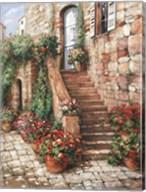Stone Stairway, Perugia Fine-Art Print
