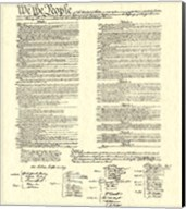 Constitution (Document) Fine-Art Print
