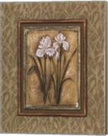 Peaceful Flowers I - Mini Fine-Art Print