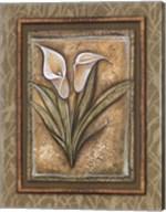Peaceful Flowers IV Fine-Art Print