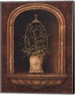 Olive Topiary Niches I Fine-Art Print