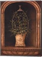 Olive Topiary Niches I - Mini Fine-Art Print