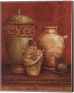 Tuscan Urns I - Petite Fine-Art Print