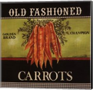 Old Fashioned Carrots - Special Fine-Art Print