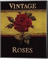 Vintage Roses - Mini Fine-Art Print