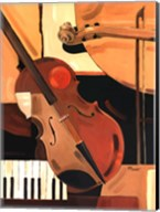 Abstract Violin - Mini Fine-Art Print