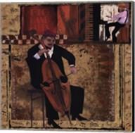 Jazz Cello - Mini Fine-Art Print